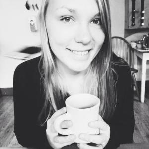 me + coffee